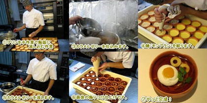 udon_pudding_making